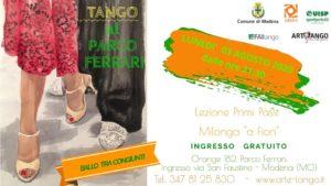 Tango al Parco Ferrari