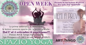 Open Week Yoga
