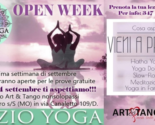 Open Week Yoga