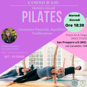 Pilates con Cinzia